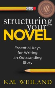 book cover for K.M. Weiland's Structuring Your Novel