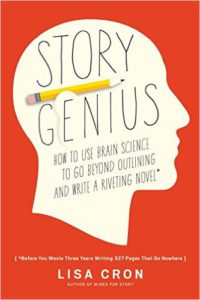 Book cover for Lisa Cron's Story Genius