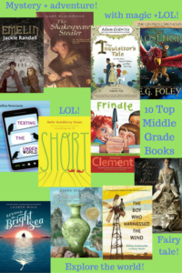 cover image collage of middle grade books mentioned in post