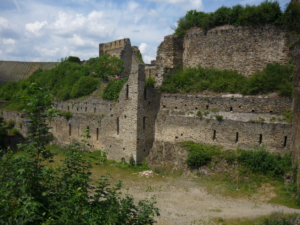 ruins of the castle that inspired the Saffron Kingdom