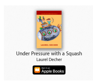 AppleBooks icon for Under Pressure With A Squash