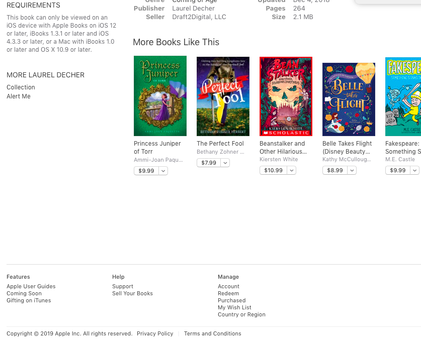 """Scroll down below the """"More Books Like This"""" section to find """"Redeem"""". It's under the """"Manage"""" list."""