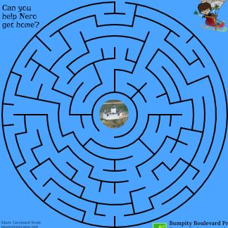 image of maze puzzle