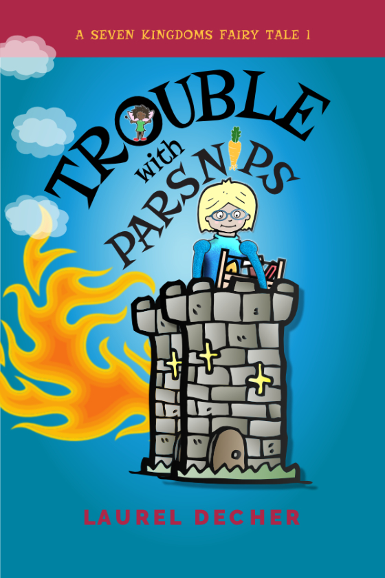 image of Trouble With Parsnips bookcover