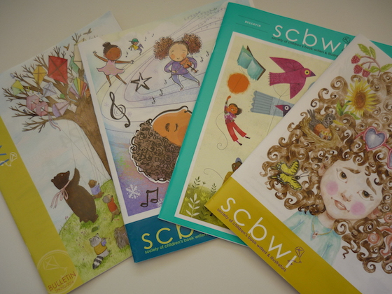 illustrated covers for SCBWI